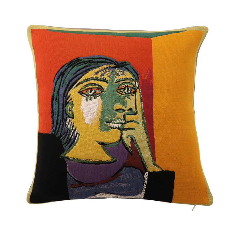 【cushion cover campaign 対象品】 PICASSO PORTRAIT DE DORA MAAR CUSHION COVER