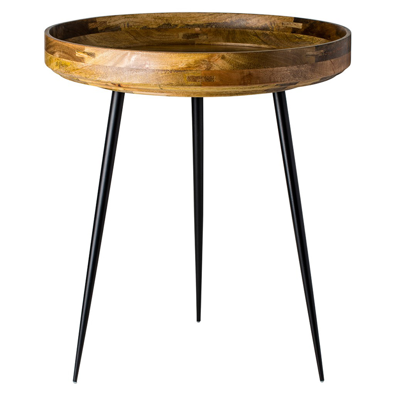 BOWL TABLE MANGO WOOD NATURAL