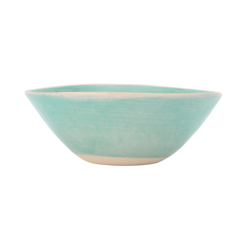 WONKI WARE BRIGHTS SOUP BOWL 17CM TURQUOISE
