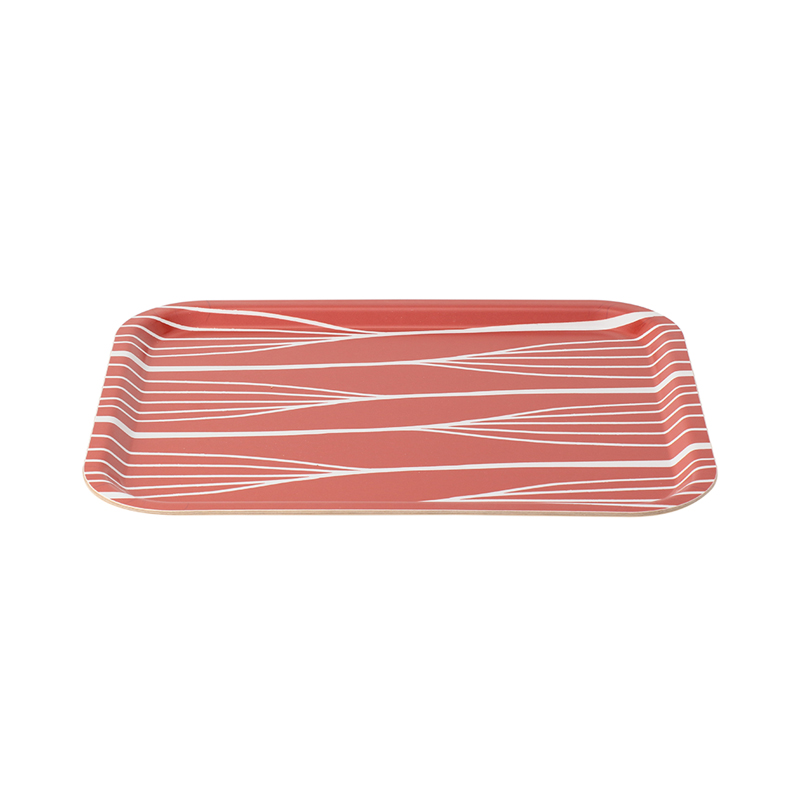 FORMPRESS TRAY MEDIAM ABSTRACT LINES RED