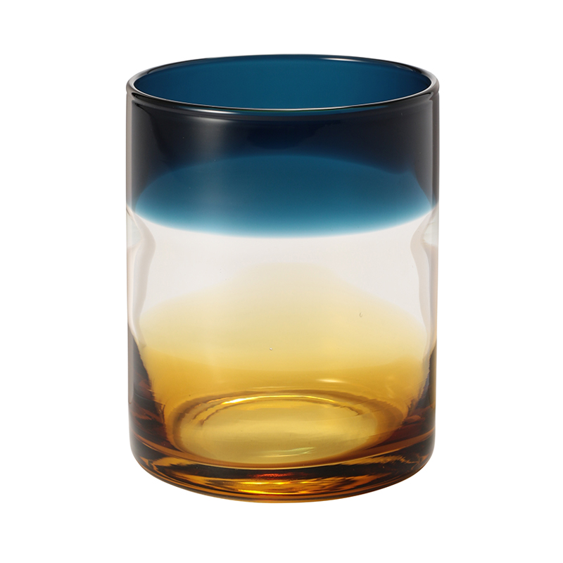 OMBRE TUMBLER BLUE AND AMBER