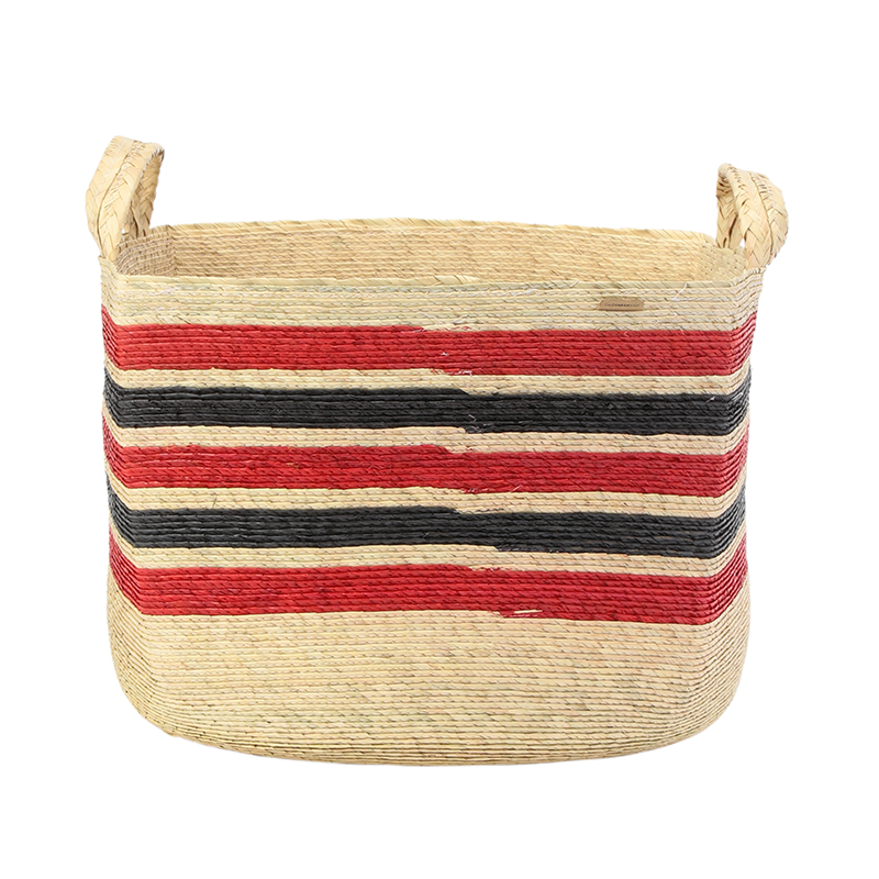 MAKAUA LARGE SQUARE  BASKET(38X38X26)