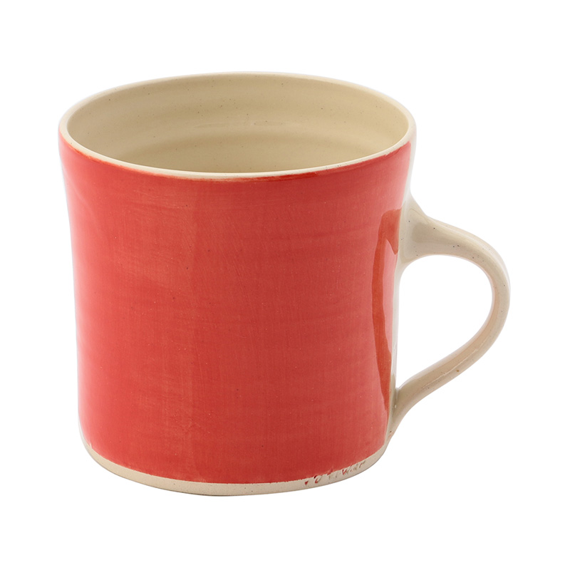 WONKI BRIGHTS STRAIGHT MUG RED