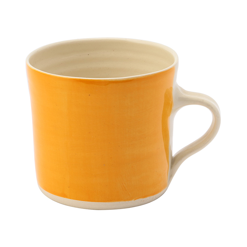 WONKI BRIGHTS STRAIGHT MUG ORANGE
