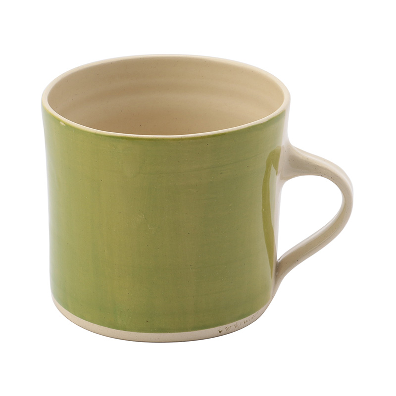 WONKI BRIGHTS STRAIGHT MUG IRISH GREEN