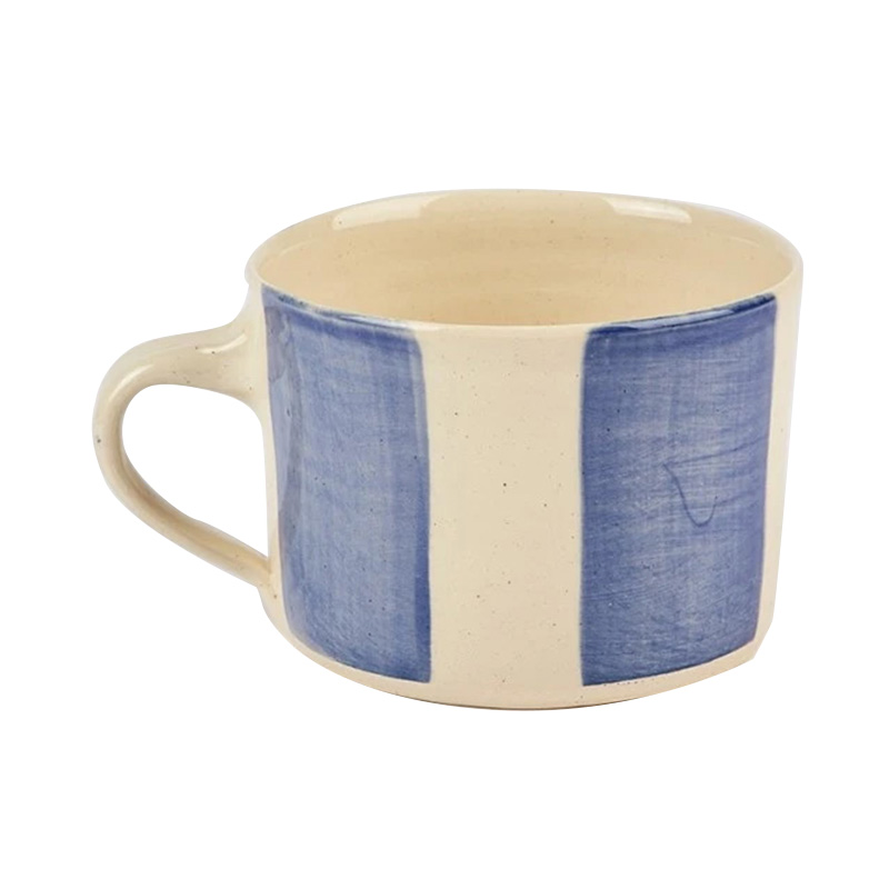 WONKI STRIPE MUG SQUAT LARGE
