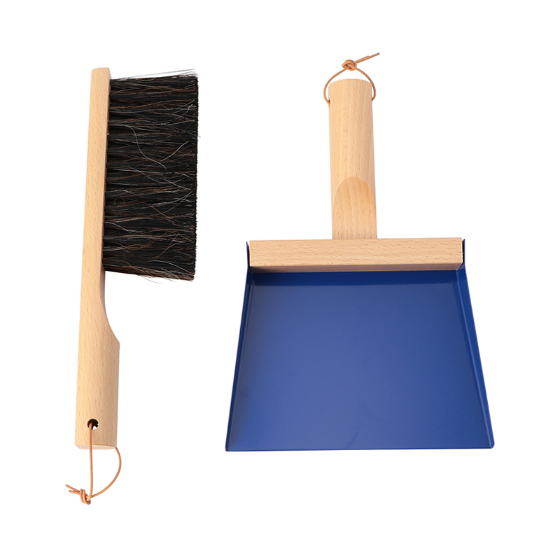 Andree Jardin HAND BRUSH AND DUSTPAN GIFTBOX CONRAN BLUE