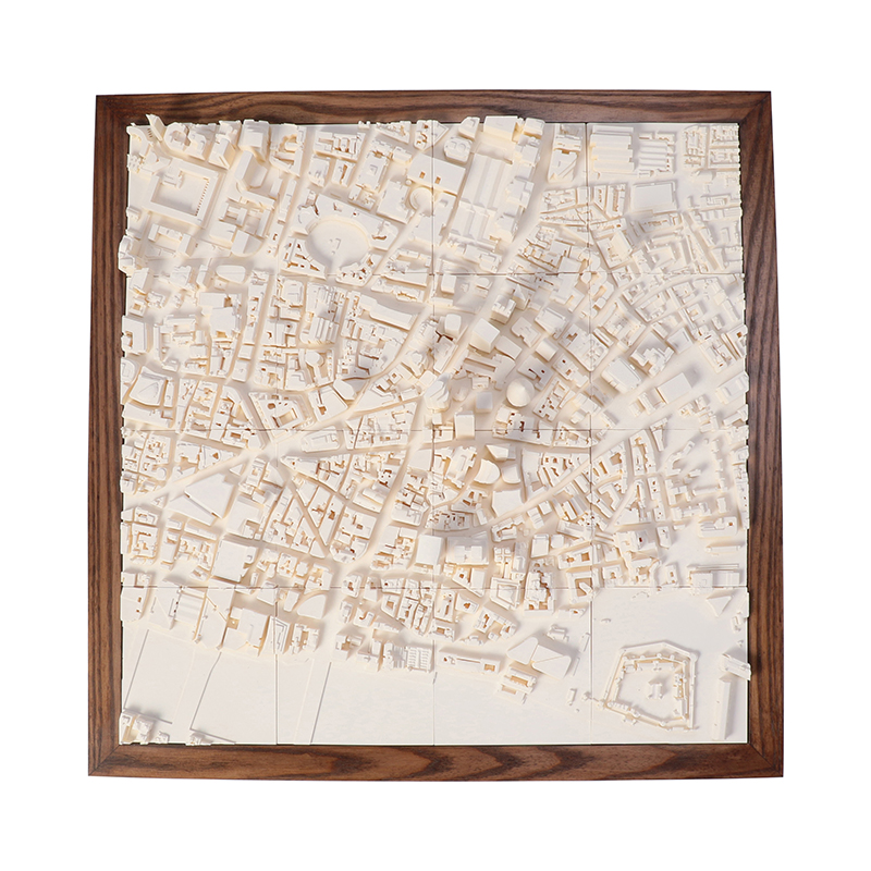 LONDON CITYSCAPE 1:2500 L WALNUT