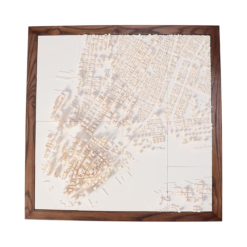 NEWYORK CITYSCAPE 1:5000 L WALNUT