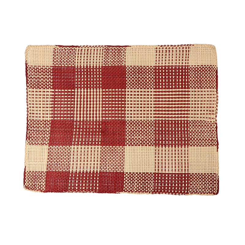 RECTANGULAR PLACEMAT BURGUNDY (28X39CM)
