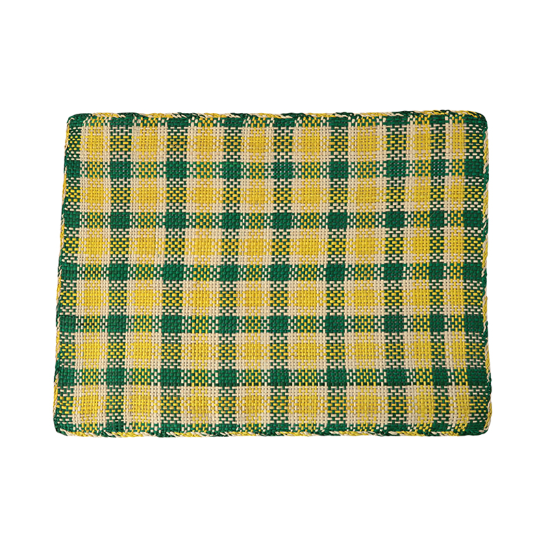 RECTANGULAR PLACEMAT GREEN+YELLOW28X39CM