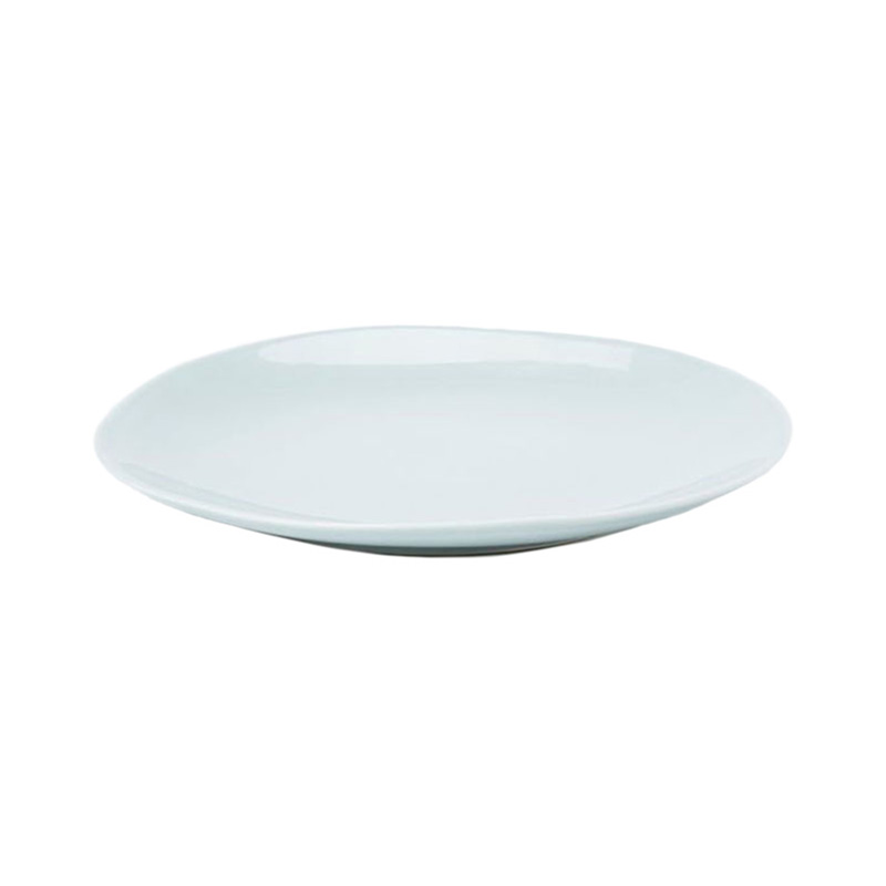 PINTURA WASHED SIDE PLATE IN PEBBLE