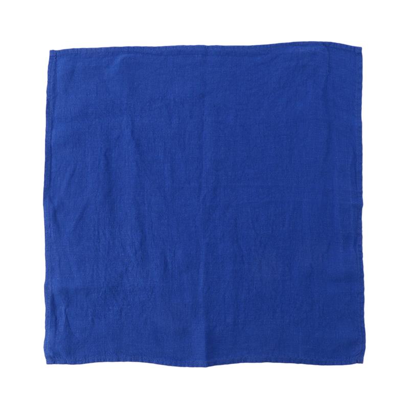 LINEN NAPKIN WORKWEAR BLUE 47X47