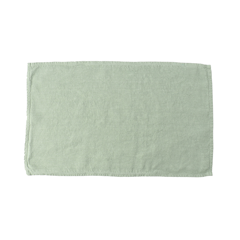 LINEN TEA TOWEL MINT 35X60