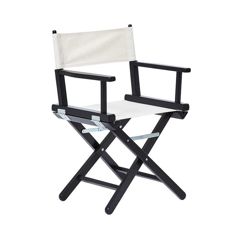 DIRECTOR'S CHAIR BLACK STAIN BEECH / ECRU