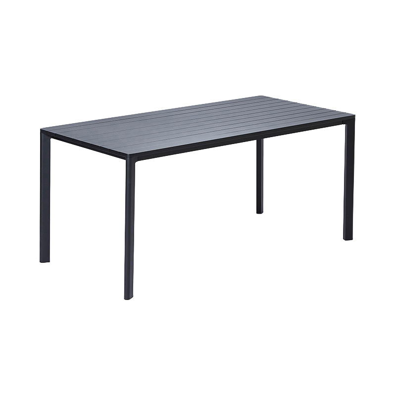 HIGHLINE RECTANGULAR TABLE BLACK 160