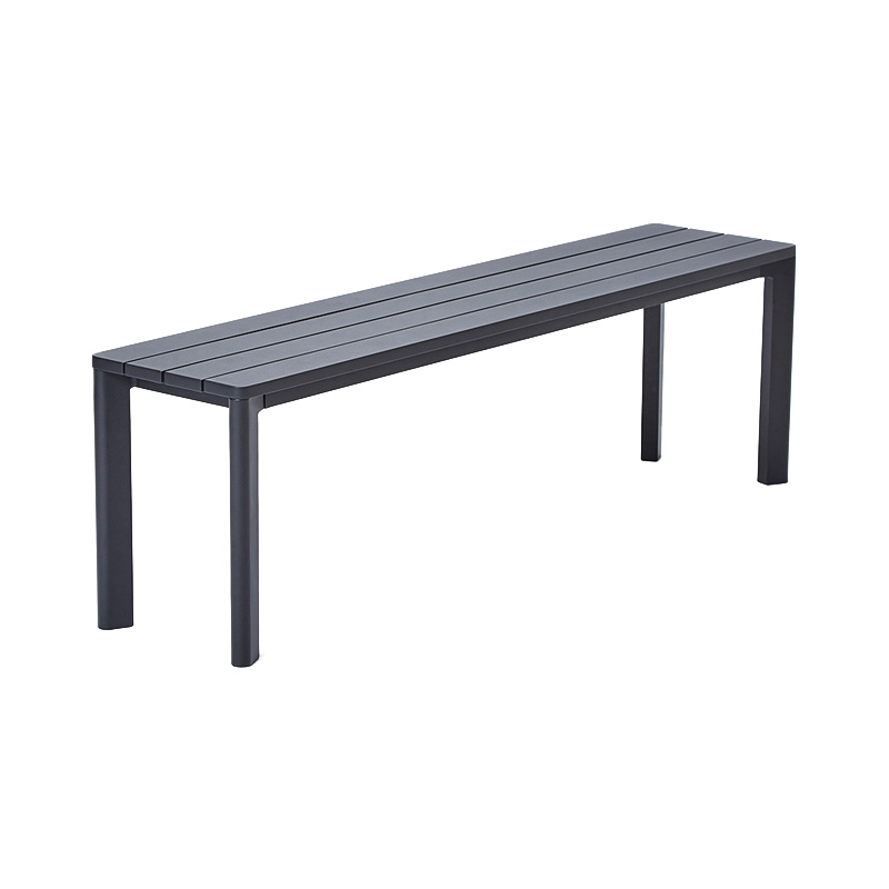 HIGHLINE BENCH BLACK 145