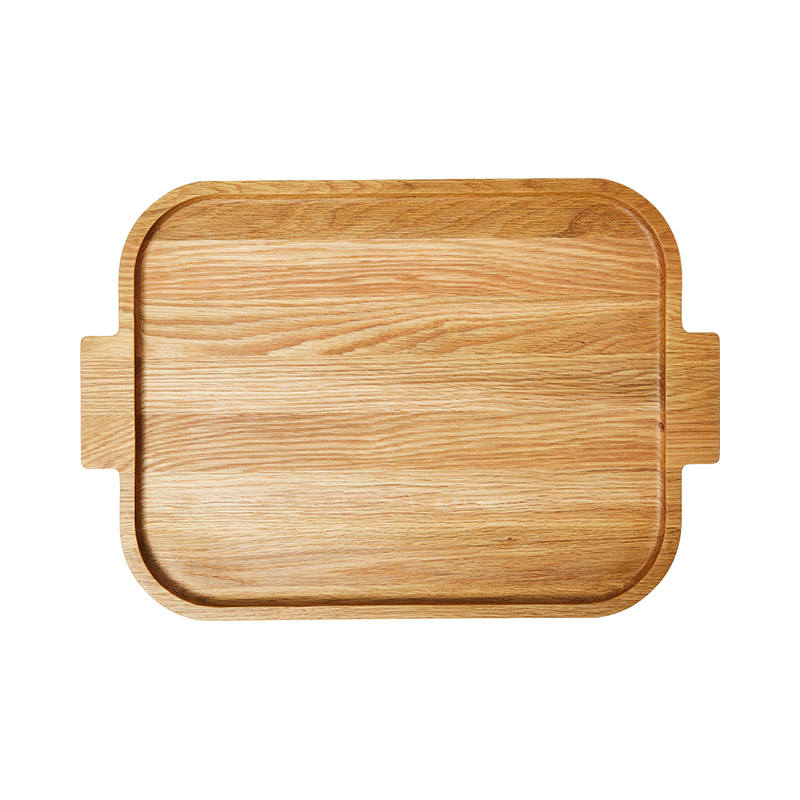 RECTANGULAR TRAY OAK 48.6X30.9X2.6