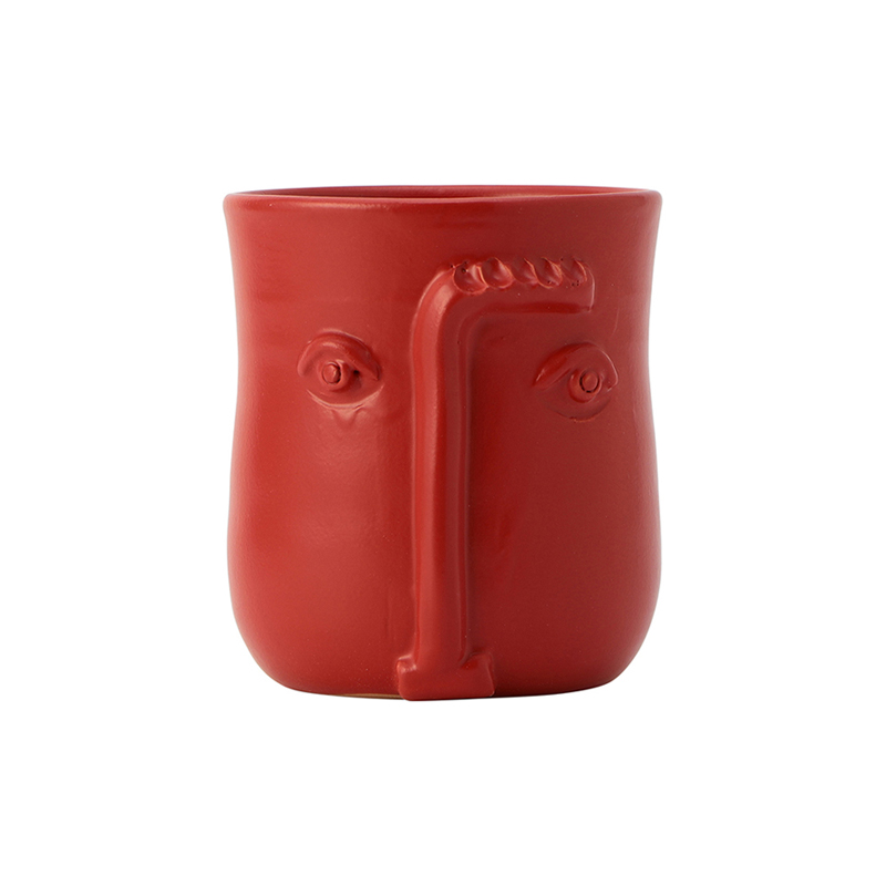 FACE POT ORANGE
