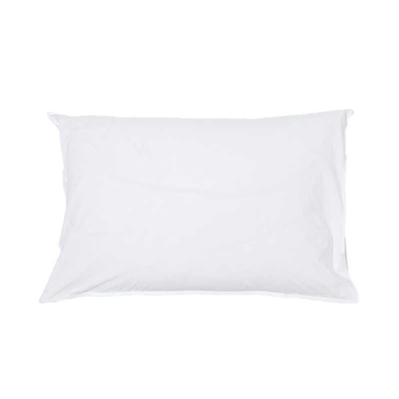 WASHED COTTON PILLOWCASE WHITE
