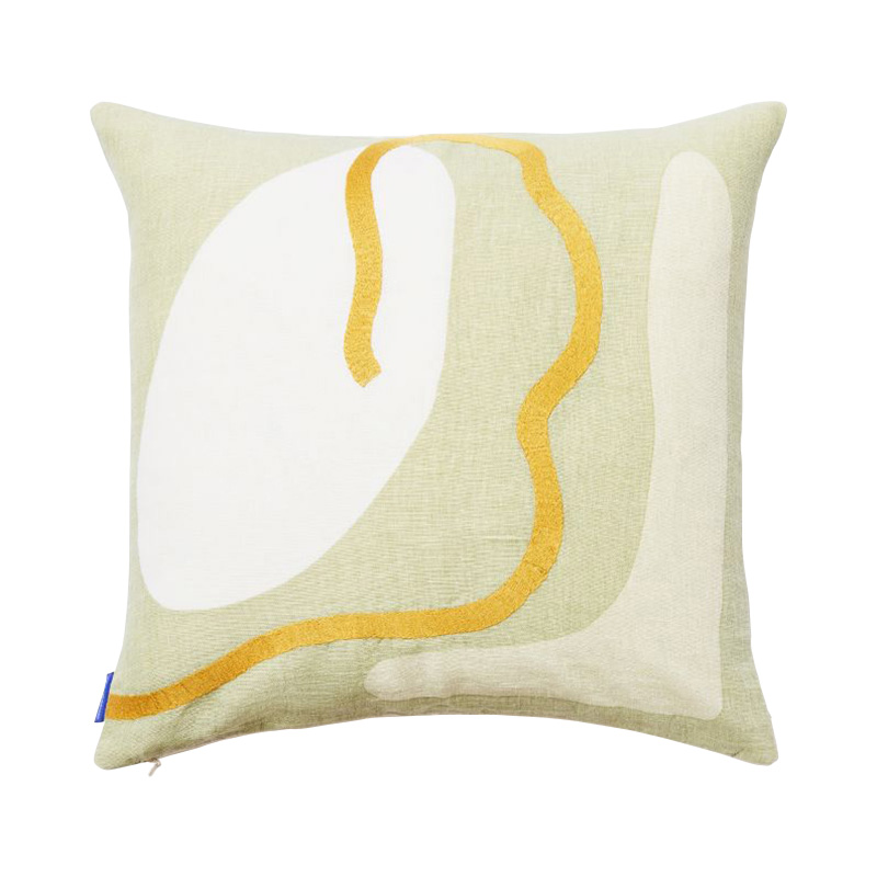 KAITO SHAPES CUSHION COVER 45X45 SAGE