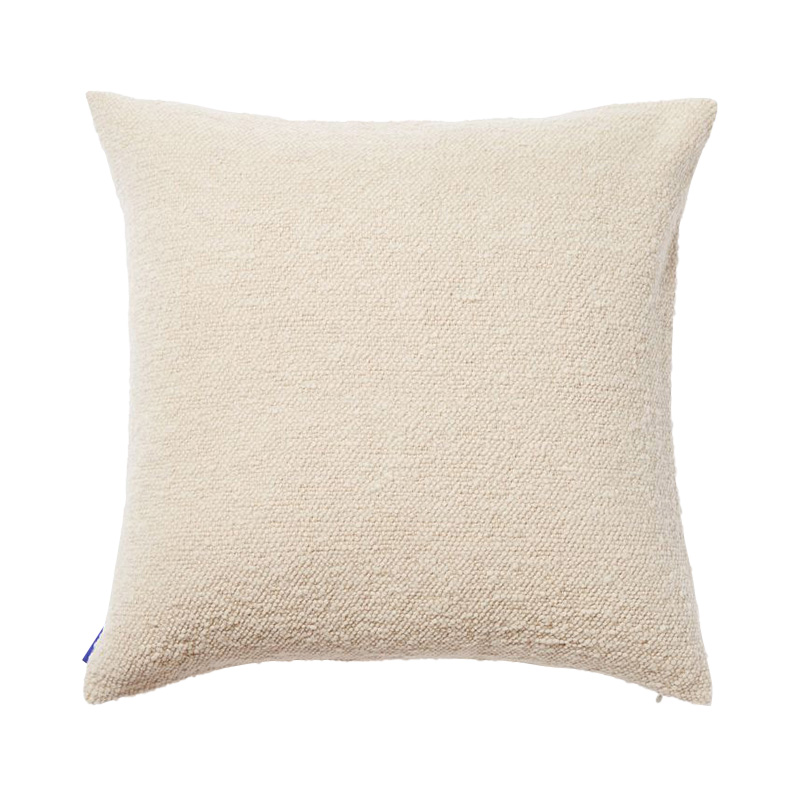 COTTON SLUB CUSHION COVER 50X50 NATURAL