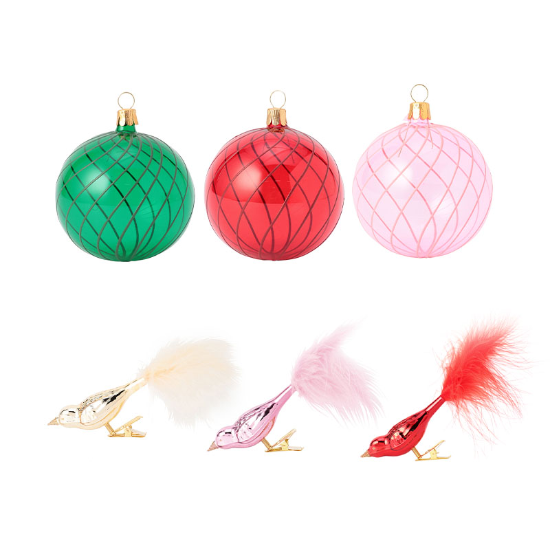 CHRISTMAS ORNAMENT CARNIVAL SET