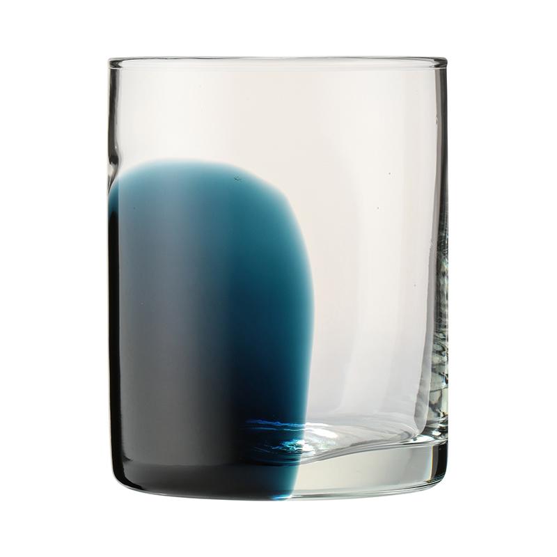 WIDE STRIPE TUMBLER BLUE