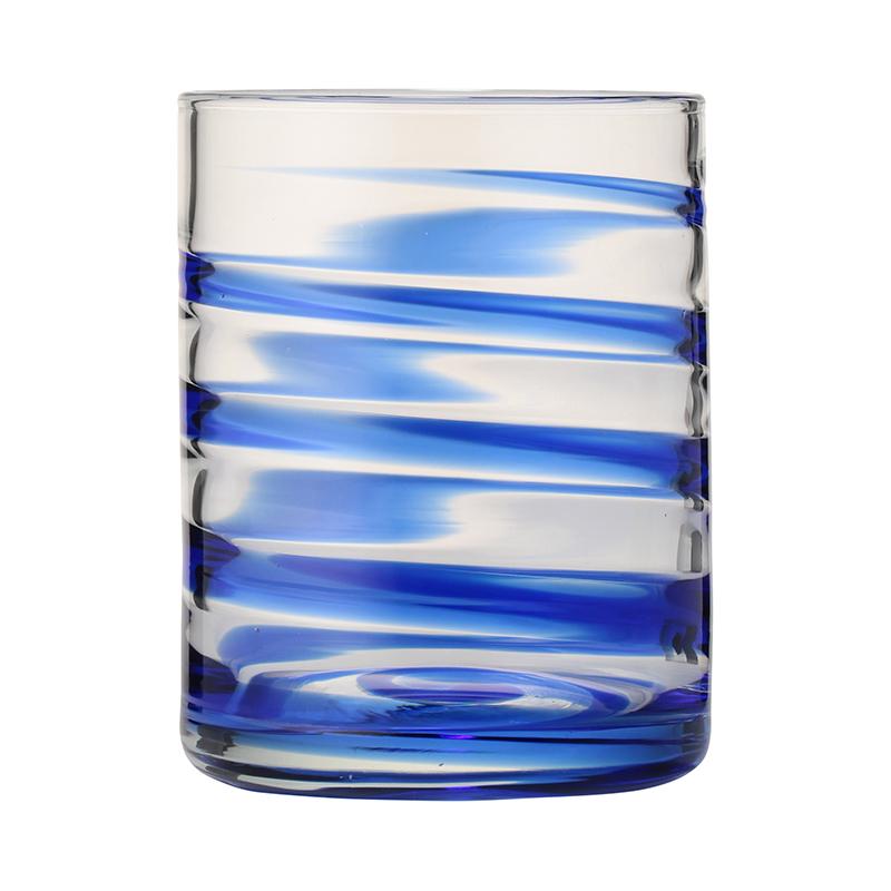 SWIRL TUMBLER BLUE