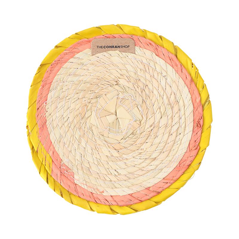 RIM ROUND COASTER ACID/FLAMINGO