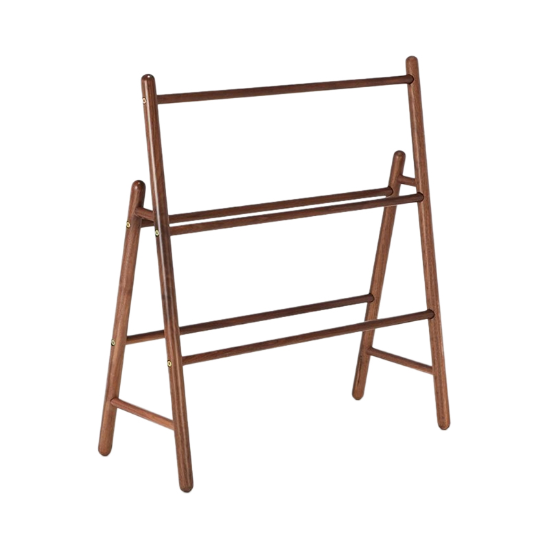 WALNUT TOWEL RAIL