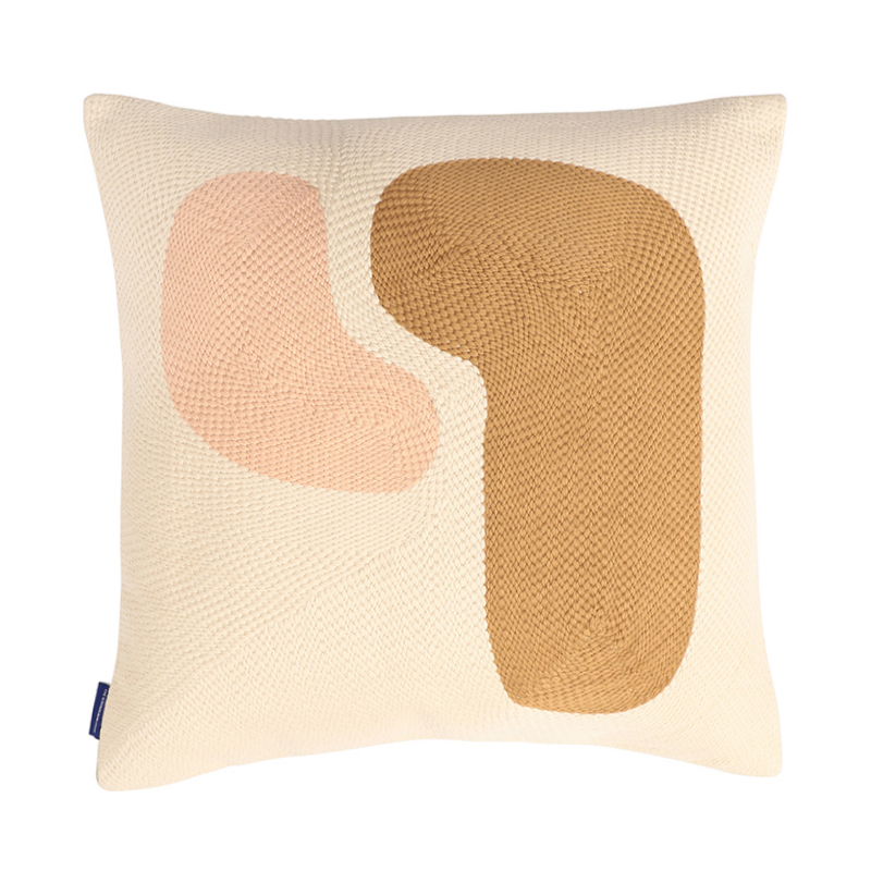 ABSTRACT STITCHED CUSHION  COVER 45X45 BIRCH