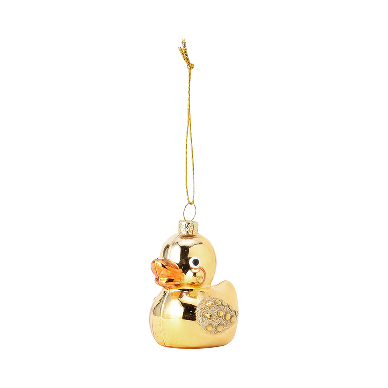 GLAM RUBBER DUCK GOLD