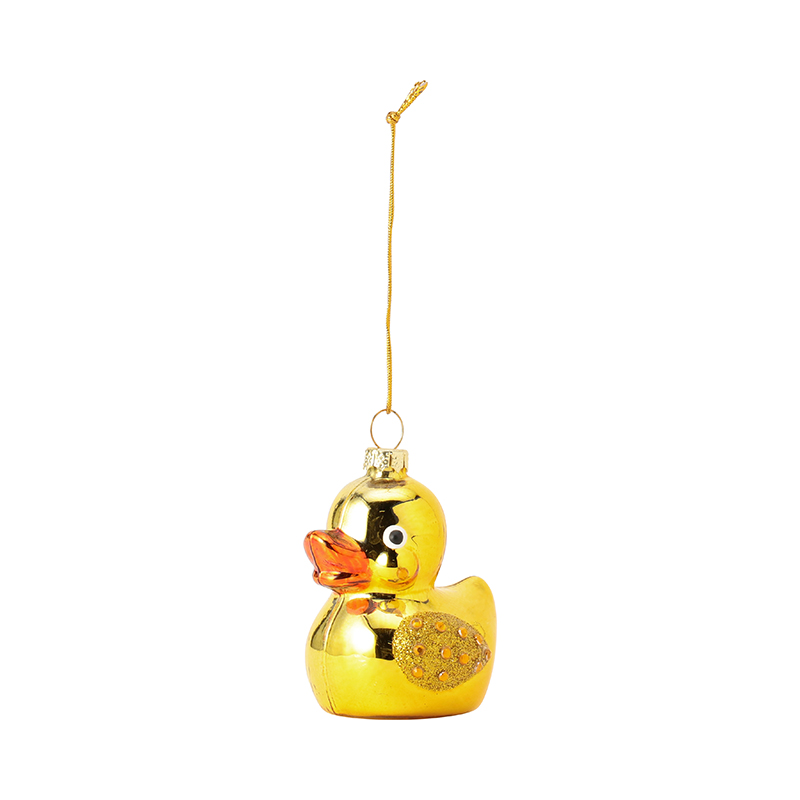 GLAM RUBBER DUCK YELLOW