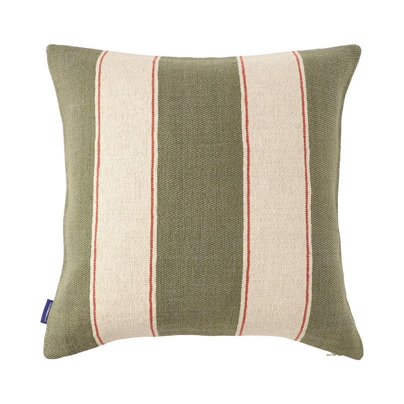 PAJERO WOVEN CUSHION COVER 45X45 OLIVE