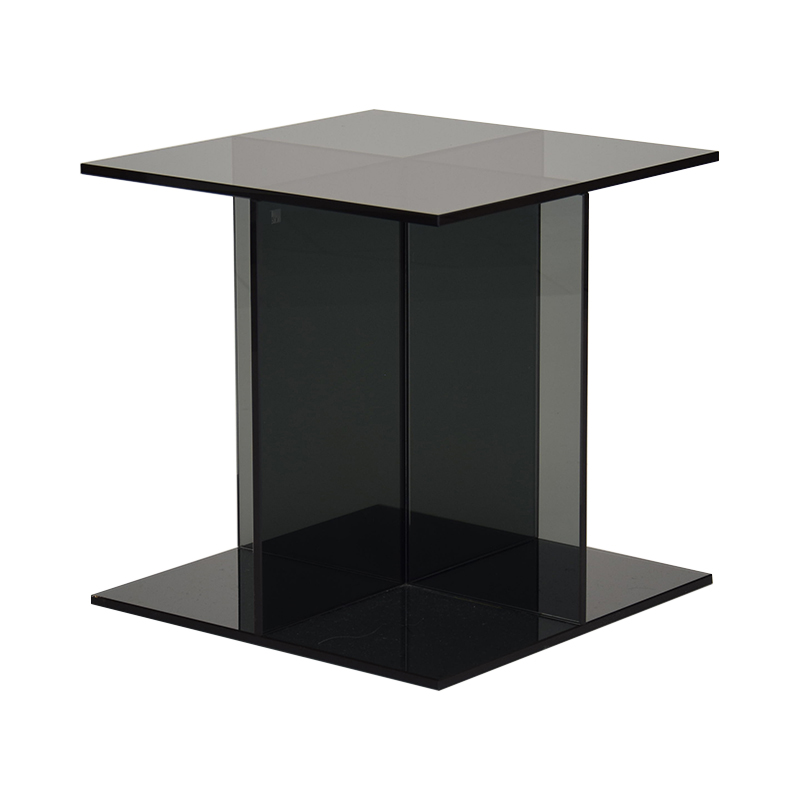 CT08 VIER SIDE TABLE 400X400X400 Glass
