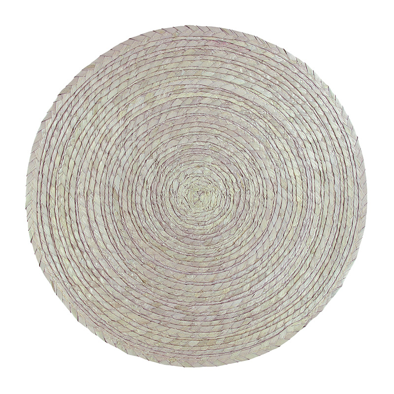 ROUND PLACEMAT SAND