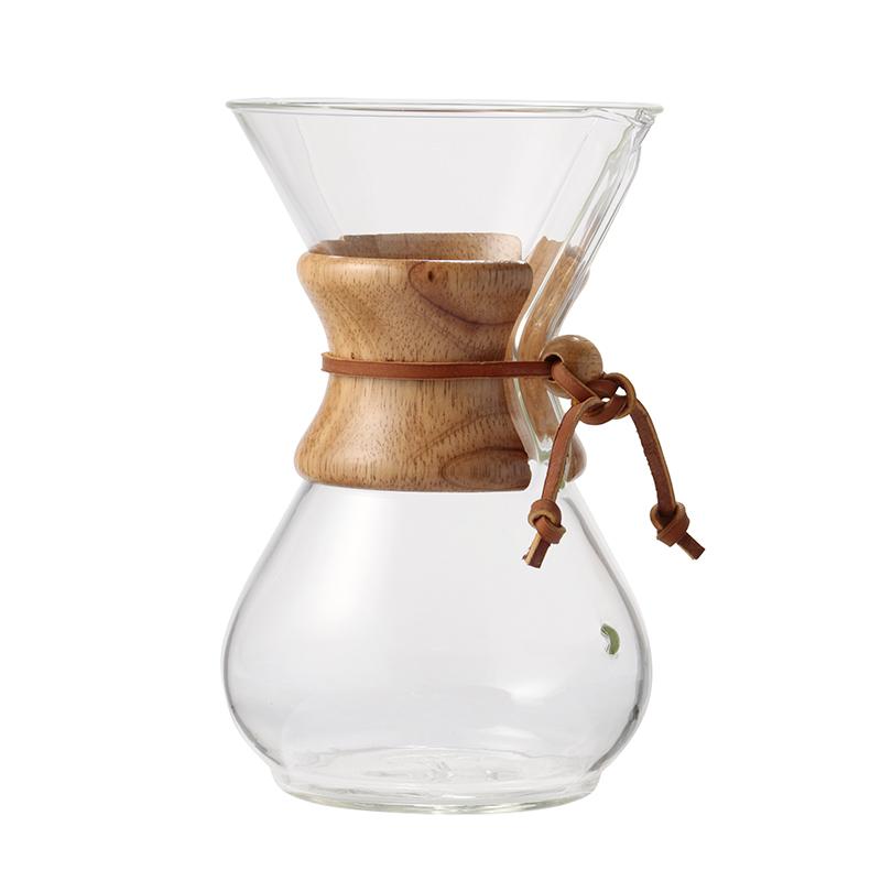 CHEMEX 6 CUP CLASSIC GLASS COFFEEMAKER