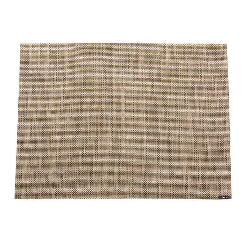 MINI BASKET WEAVE PLACEMAT LINEN