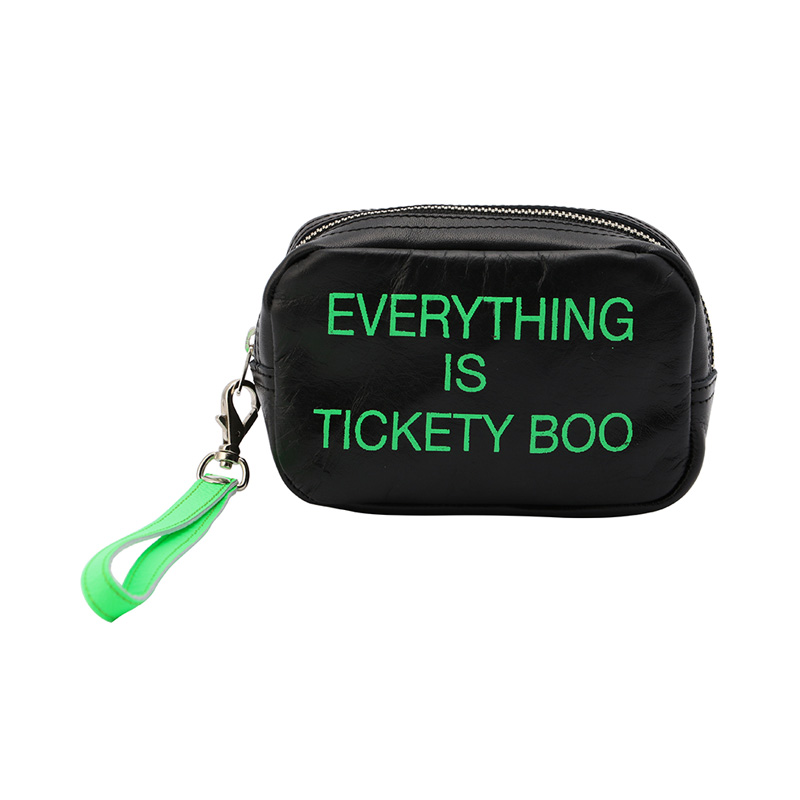 COXCOMB JUST IN CASE NEON GREEN_EVERYTHING IS TICKEY BOO