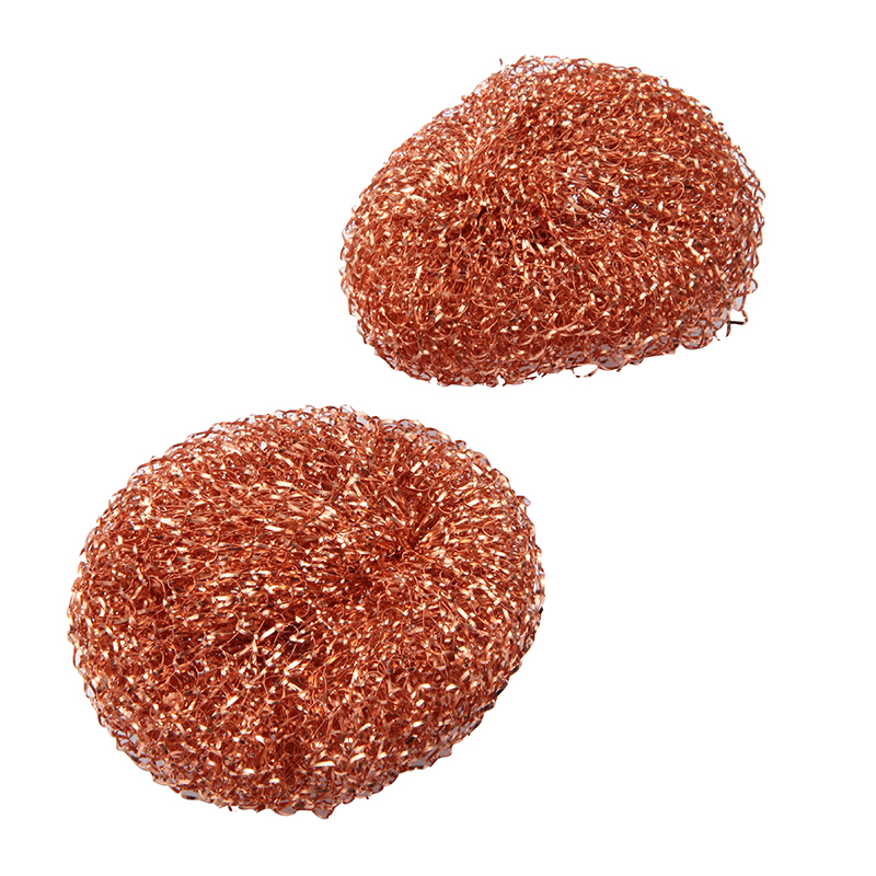 REDECKER COPPER POT SCRUBBER 2 PIECES
