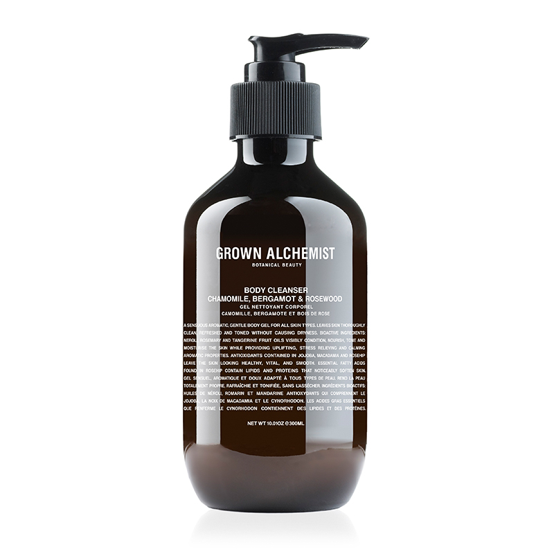 GROWN ALCHEMIST BODY CLEANSER BELGAMOT&ROSEWOOD 300ML