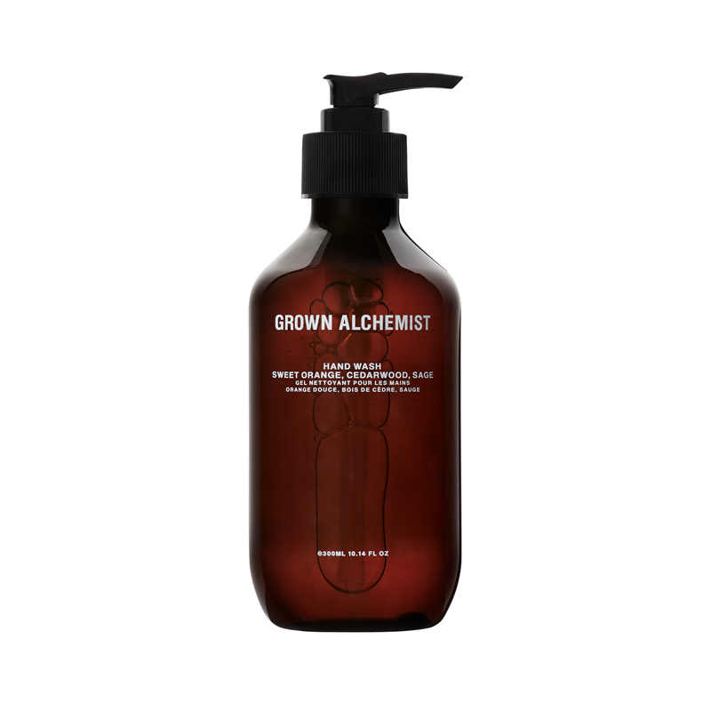 GROWN ALCHEMIST HANDWASH SWEET ORANGE CIDDERWOOD&SAGE 300ML