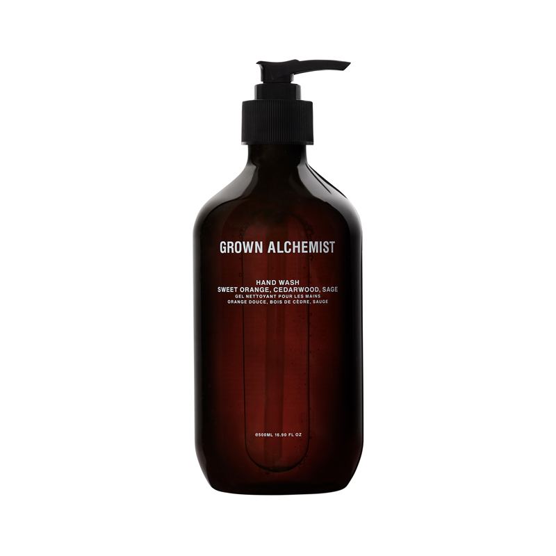 GROWN ALCHEMIST HANDWASH SWEET ORANGE CIDDERWOOD&SAGE 500ML