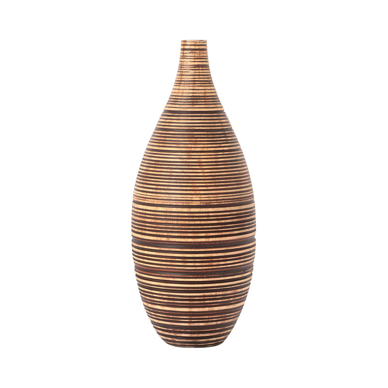 HULA VASE BROWN