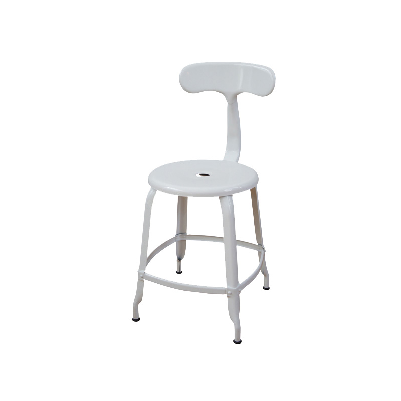 NICOLLE CHAIR 45 WHITE