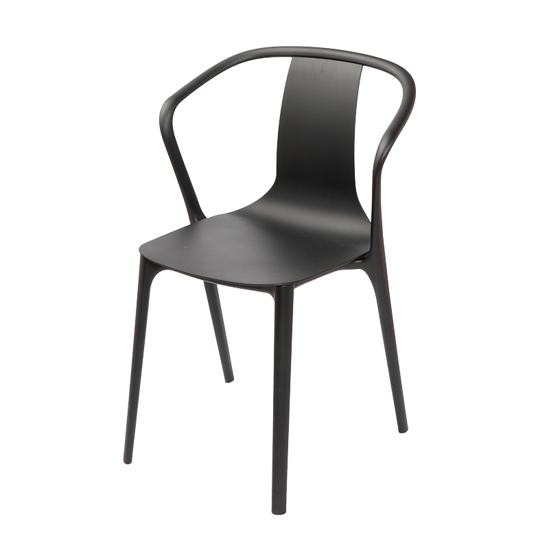 BELLEVILLE ARM CHAIR BLACK