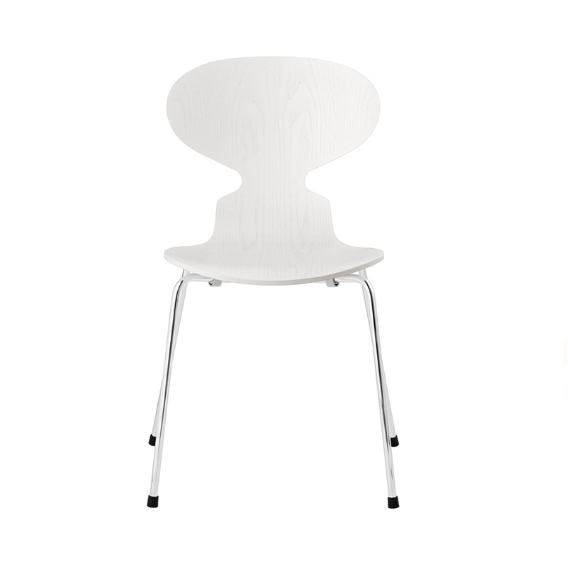 ANT CHAIR COLORED ASH WHITE