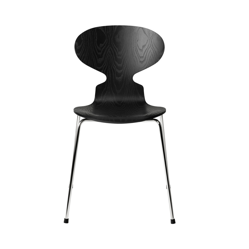 ANT CHAIR COLORED ASH BLACK