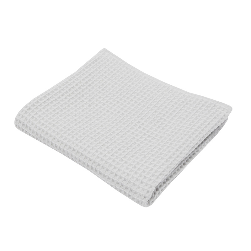 THE CONRAN SHOP ORIGINAL WAFFLE&GAUZE BATH TOWEL ICE GREY